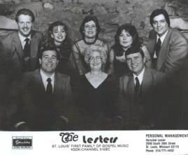 IN 1980, BIG MO (extreme right) JOINED THE LESTER FAMILY OUT OF ST. LOUIS, Mo. (it would be here that he would meet his wife Sharon)