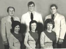 IN 1974 BIG MO TRAVELED WITH HIS VERY FIRST GROUP CALLED THE TEENS OF ZION. THEY WERE A PART TIME GROUP TRAVELING WEEKENDS. ( MO is backrow center)